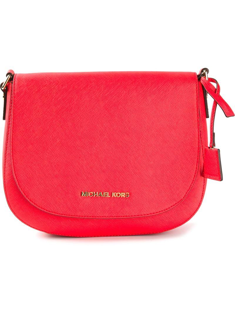 ff1a46f7fa43 ... Purses Wallets Dillards Lyst - Michael Michael Kors Large Hamilton  Messenger Bag in ...