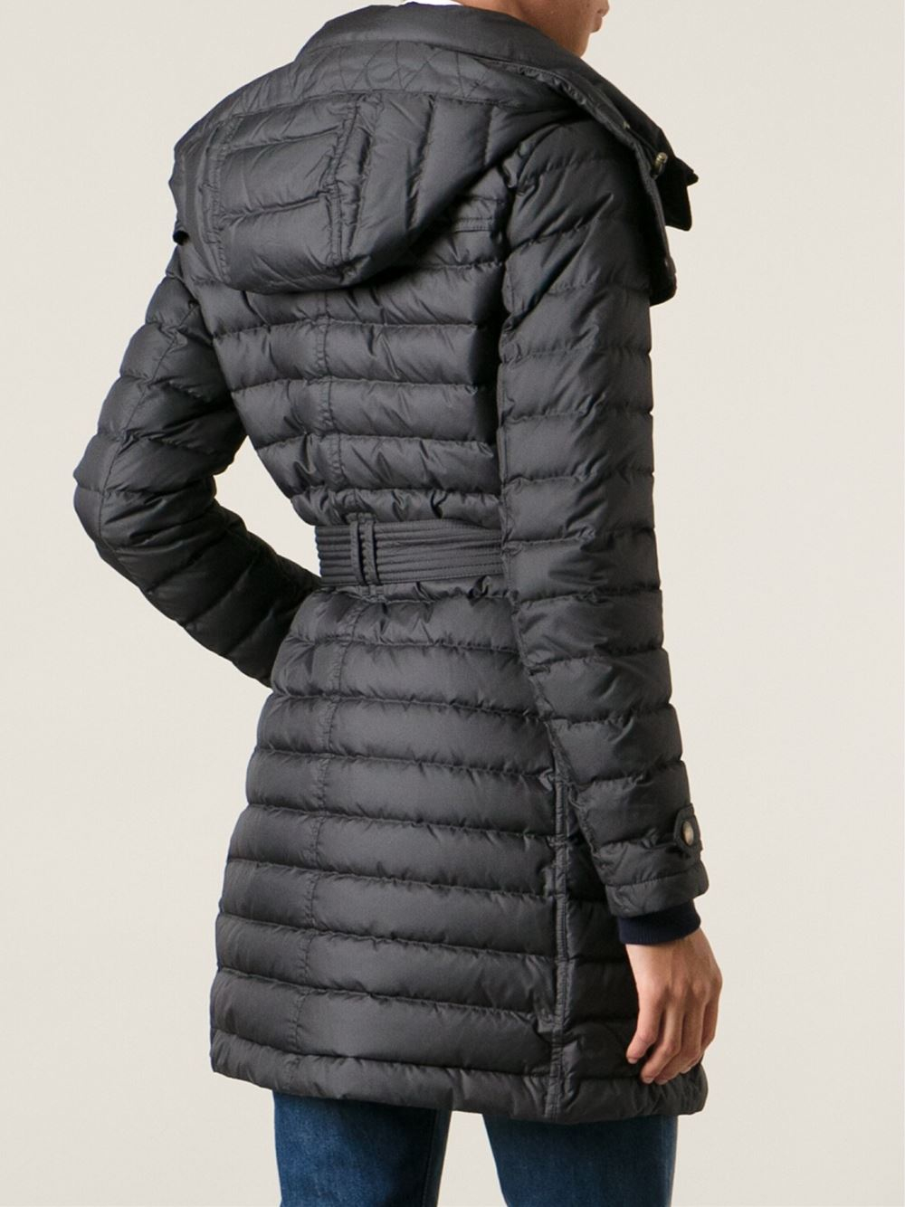 utterly stylish competitive price fresh styles Burberry Brit 'Colbrooke' Padded Coat in Black - Lyst