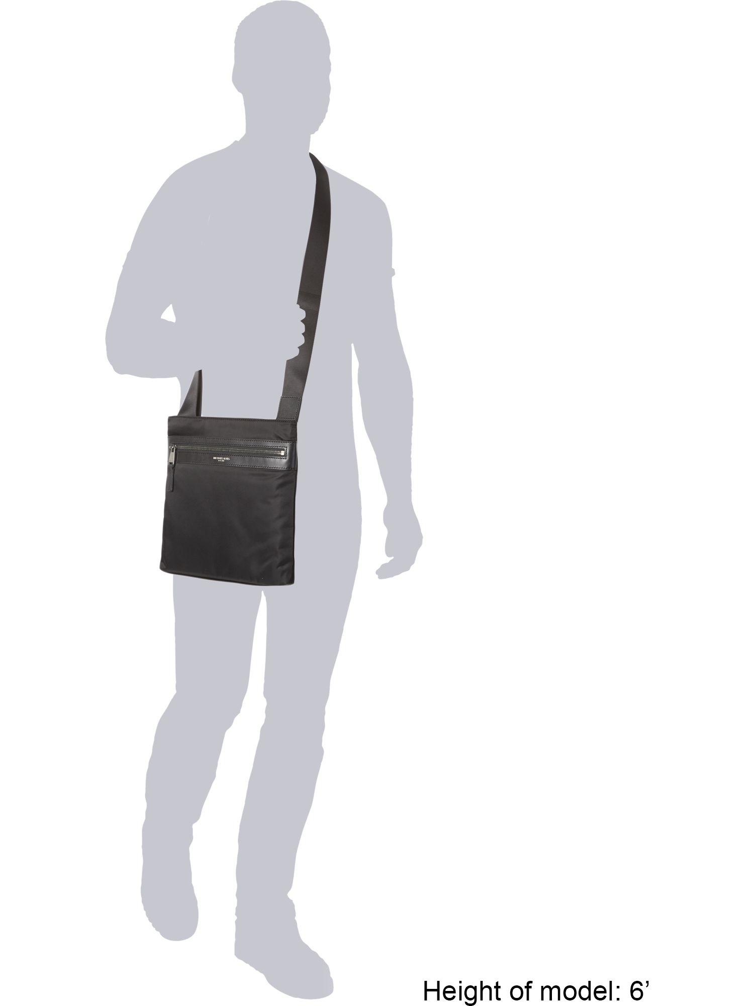 Michael Kors Kent Nylon Cross Body in Indigo (Black) for Men
