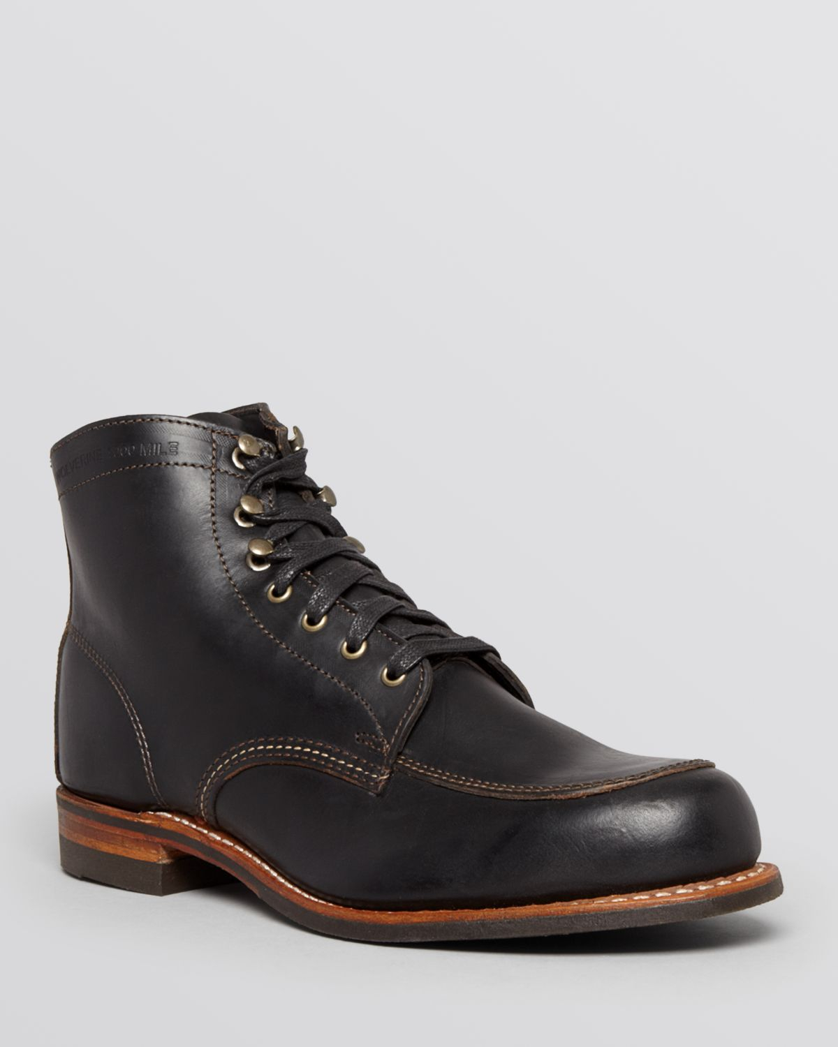Wolverine Courtland Boots In Black For Men Lyst