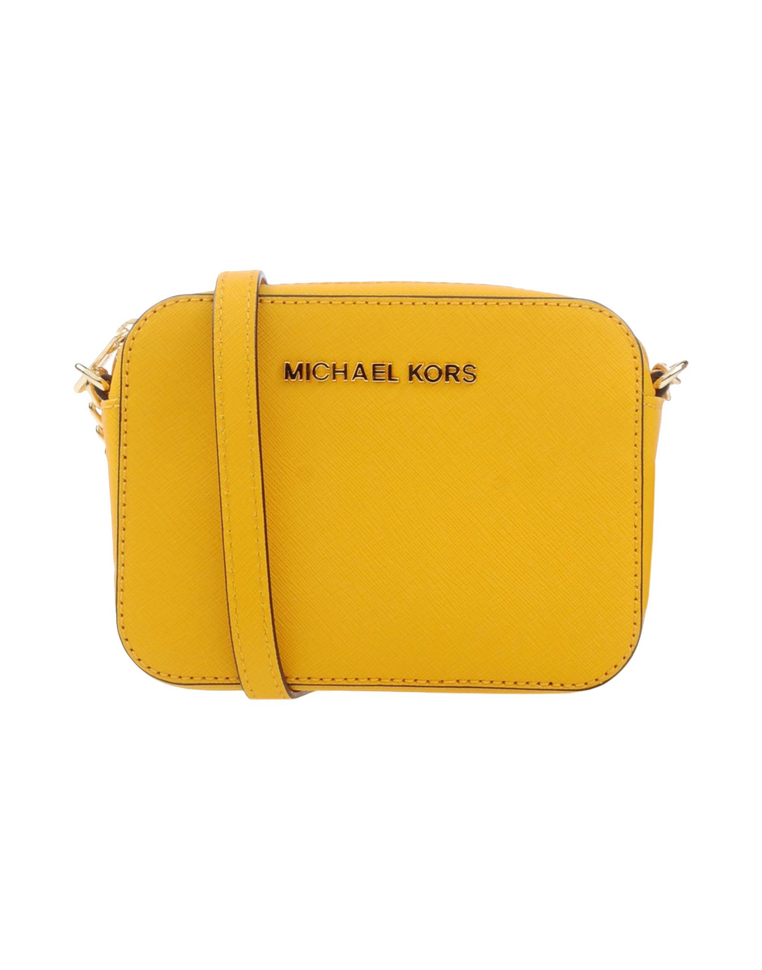 2e840a23398d6e ... where can i buy lyst michael michael kors cross body bag in yellow  e912c a466d