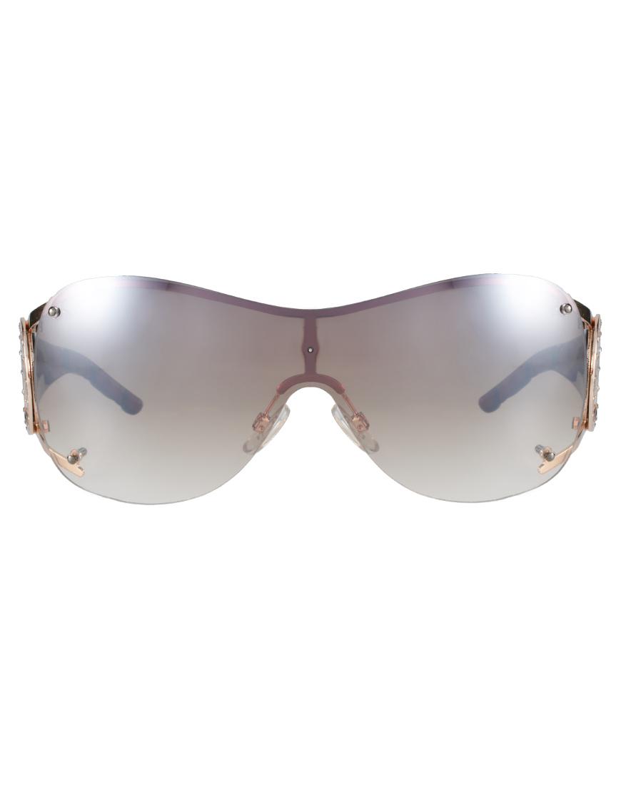 Lyst River Island Victoria Visor Sunglasses In Brown