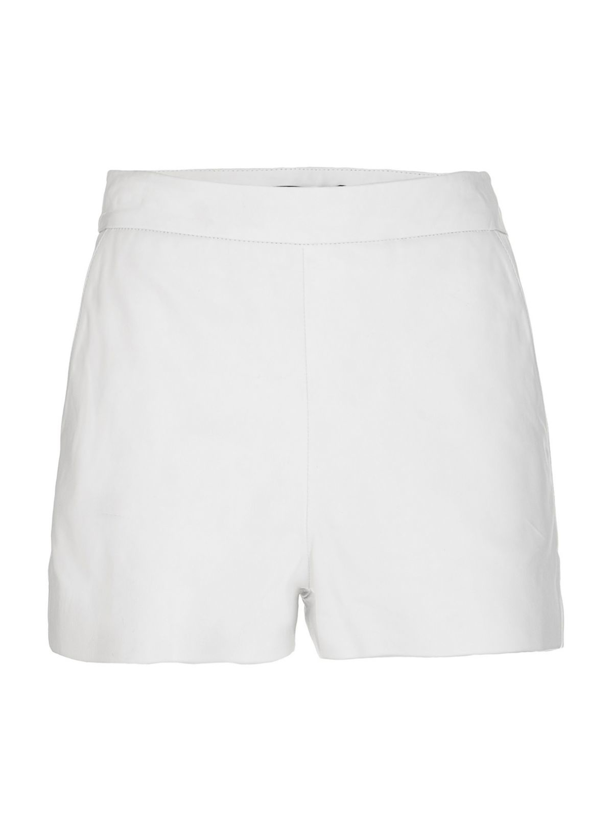 Guess Marciano Leather Shorts in White | Lyst