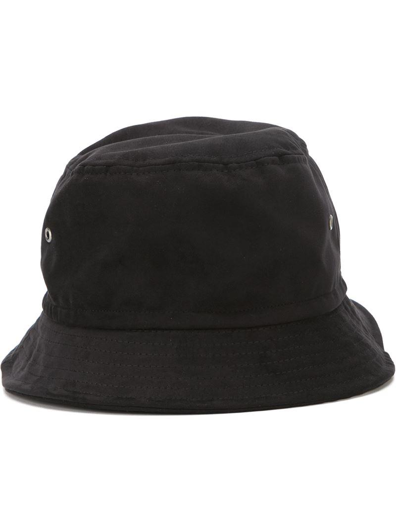 A P C Bucket Hat In Black For Men Lyst
