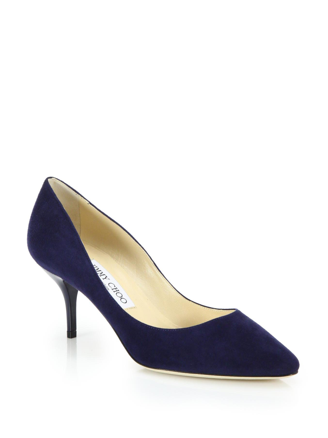 Jimmy Choo Navy Blue Shoes