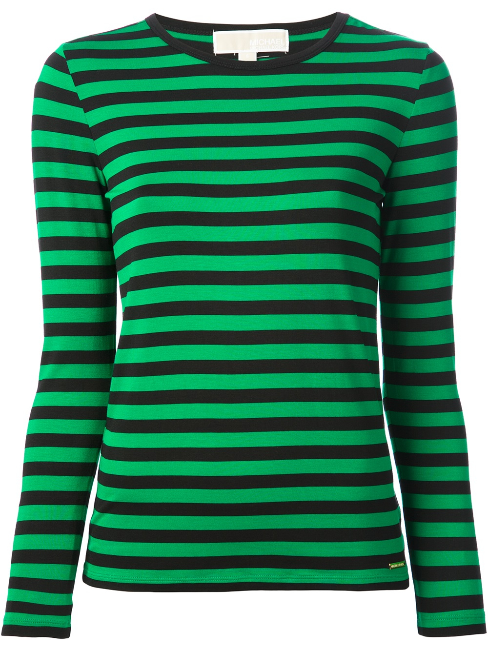 746eb21f63 Green Striped T Shirt Womens