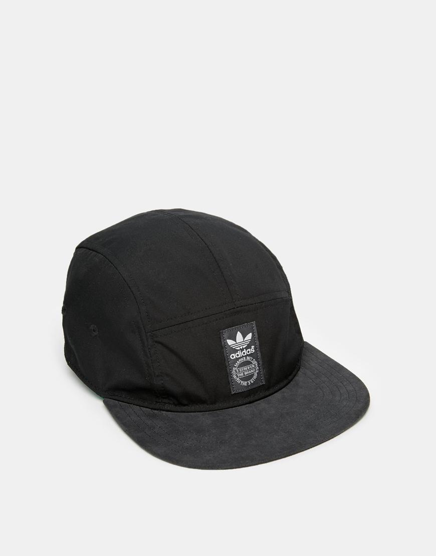 ef34f37df97 ... new arrivals lyst adidas 5 panel snapback cap in black for men efca5  8866a