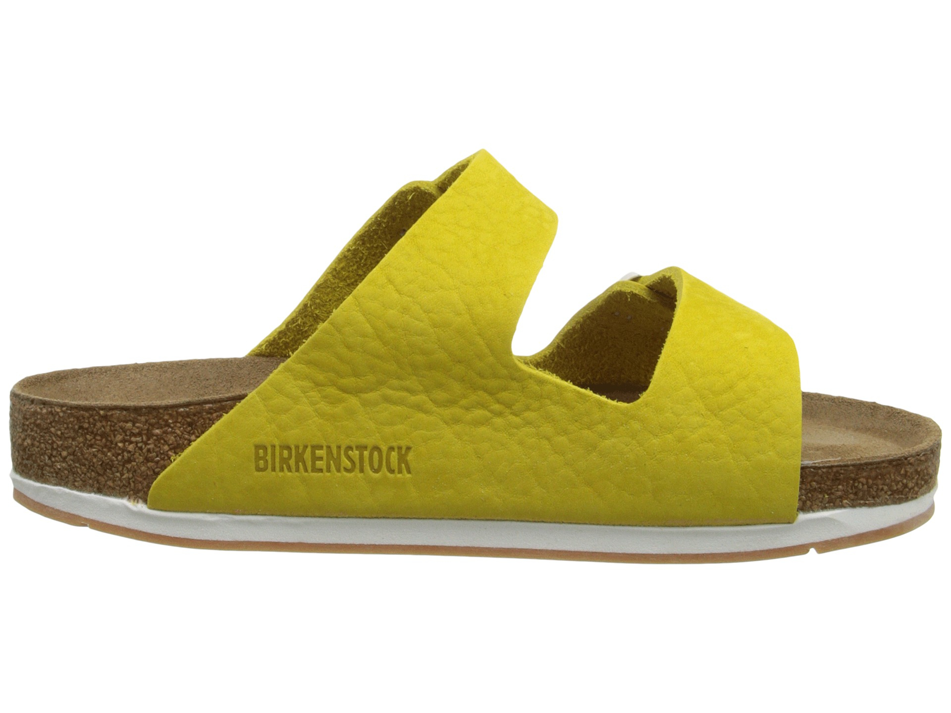 Lyst - Birkenstock Arizona Soft Footbed - Leather (unisex) in Yellow f6d6945922
