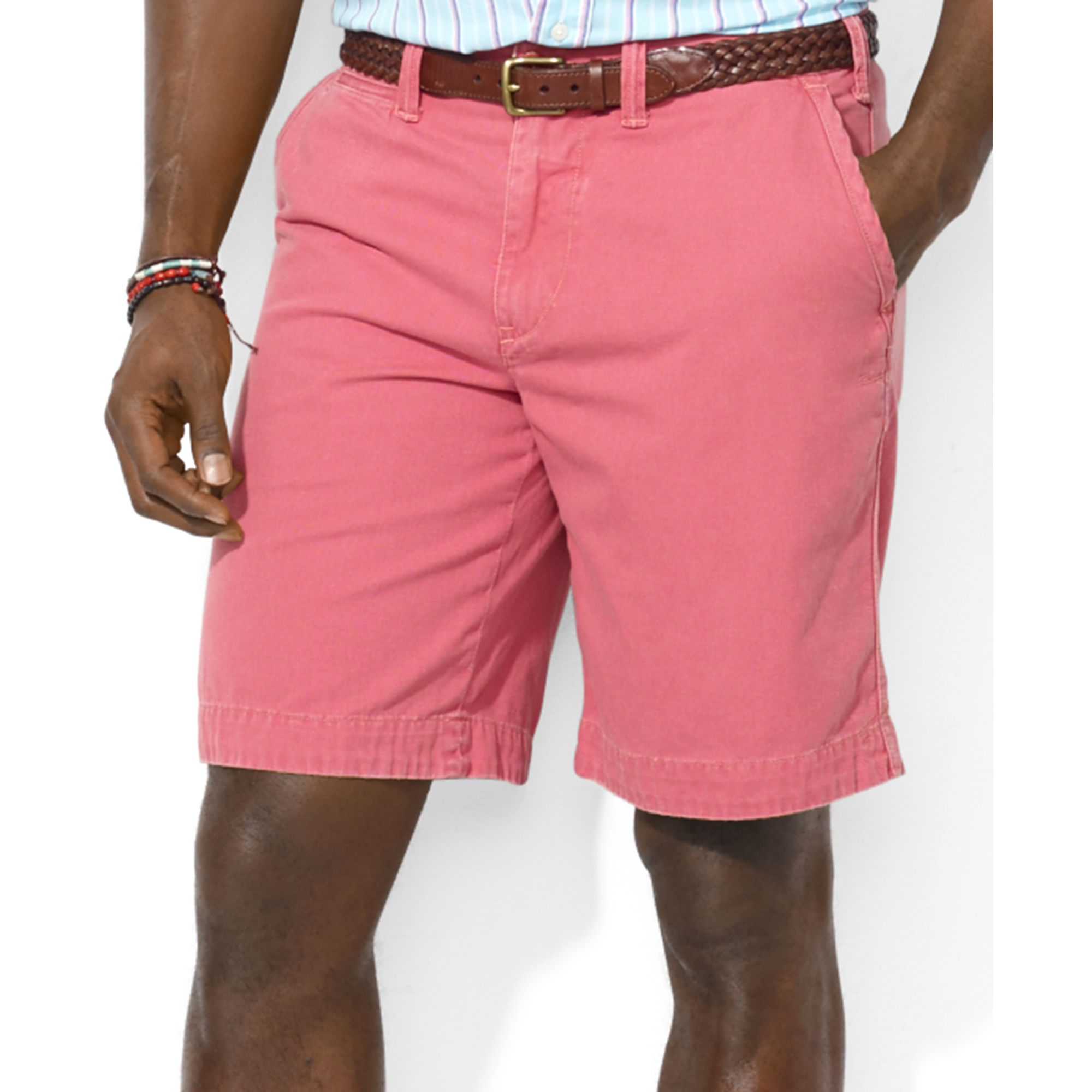 Pink Tall Polo Men For And Classic Rugged Ralph Bleecker Shorts Lauren Big Fit 6yIbvf7mYg