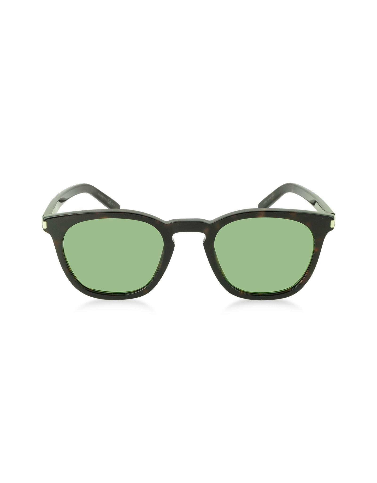3dc92ed2266 Saint laurent Sl 28 Acetate Men  39 S Sunglasses in Green for Men
