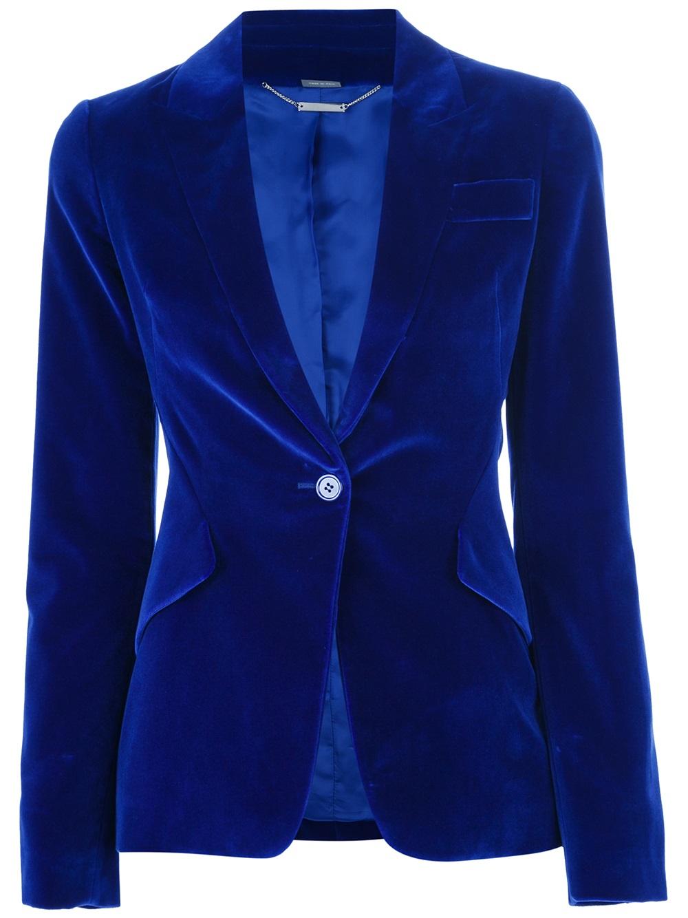 Navy Blue Anorak Jacket