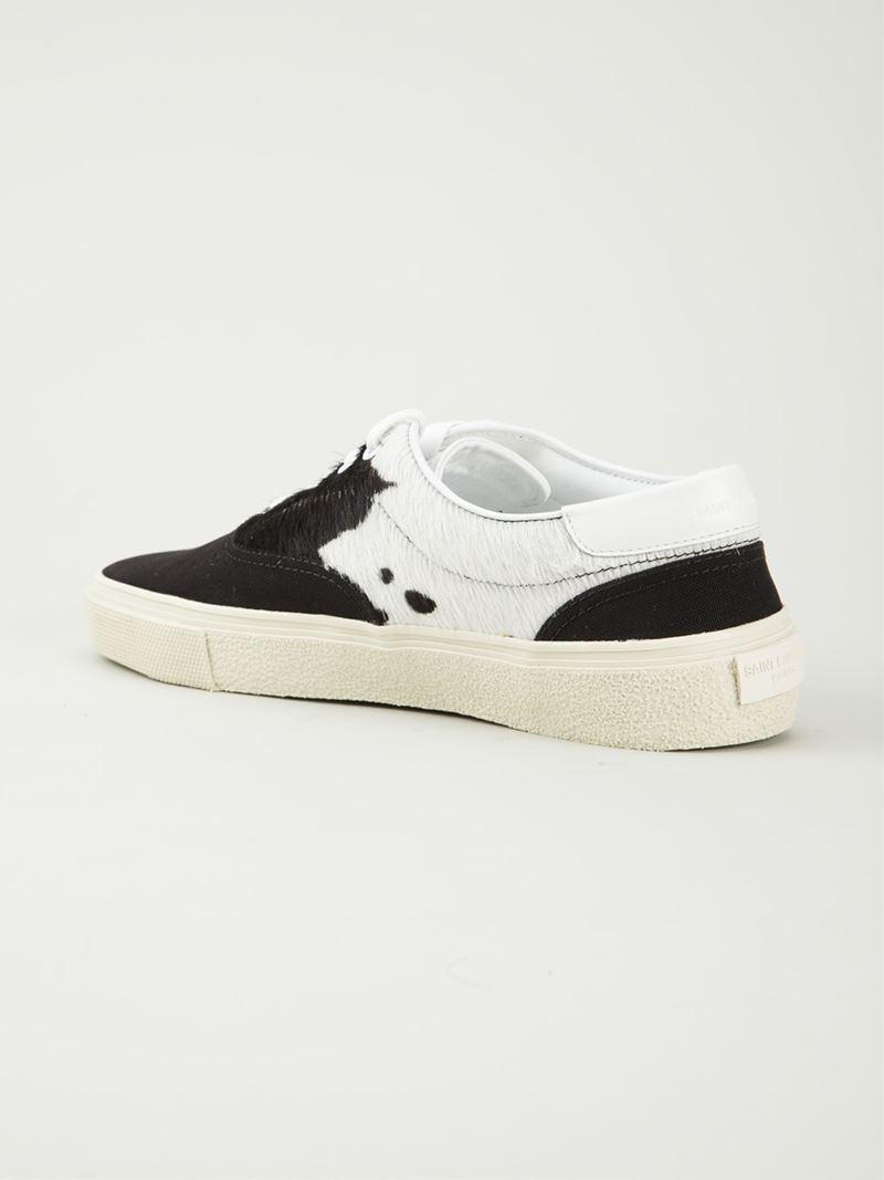 Saint Laurent Skate Shoes Black