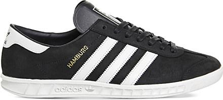 adidas Originals Hamburg Suede Trainers