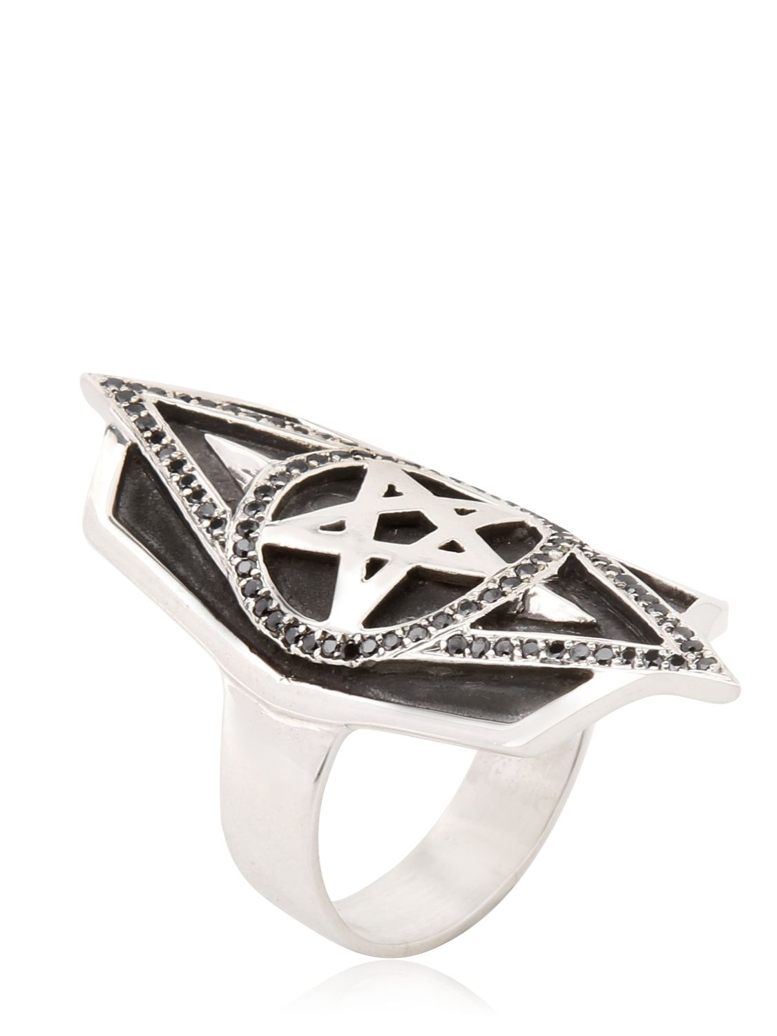 Pentacle Engagement Ring