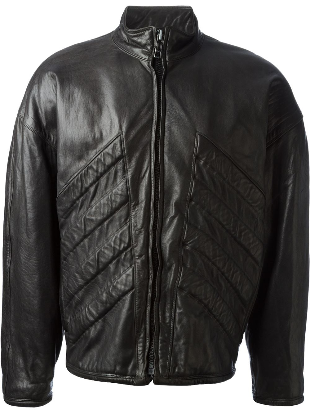 Versace leather jackets