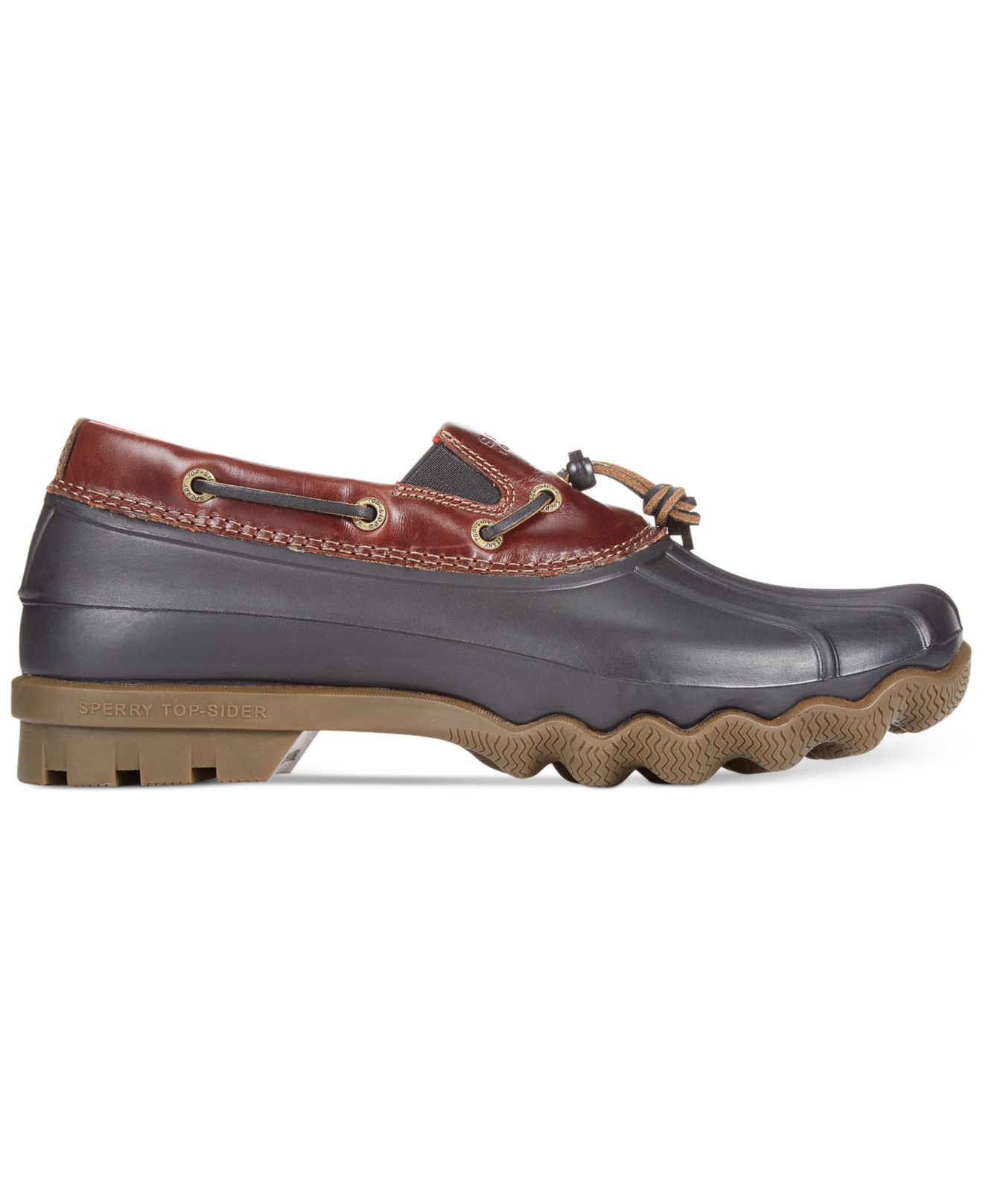 Lyst Sperry Top Sider Avenue Duck Toggle Low Boots In