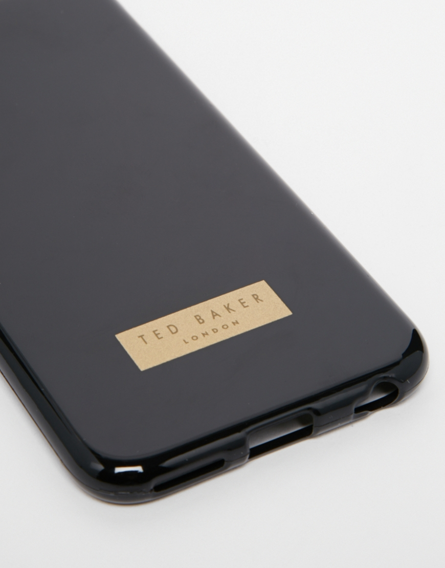 lowest price 29da7 3662f Ted Baker Black Rubber Iphone 6 Case