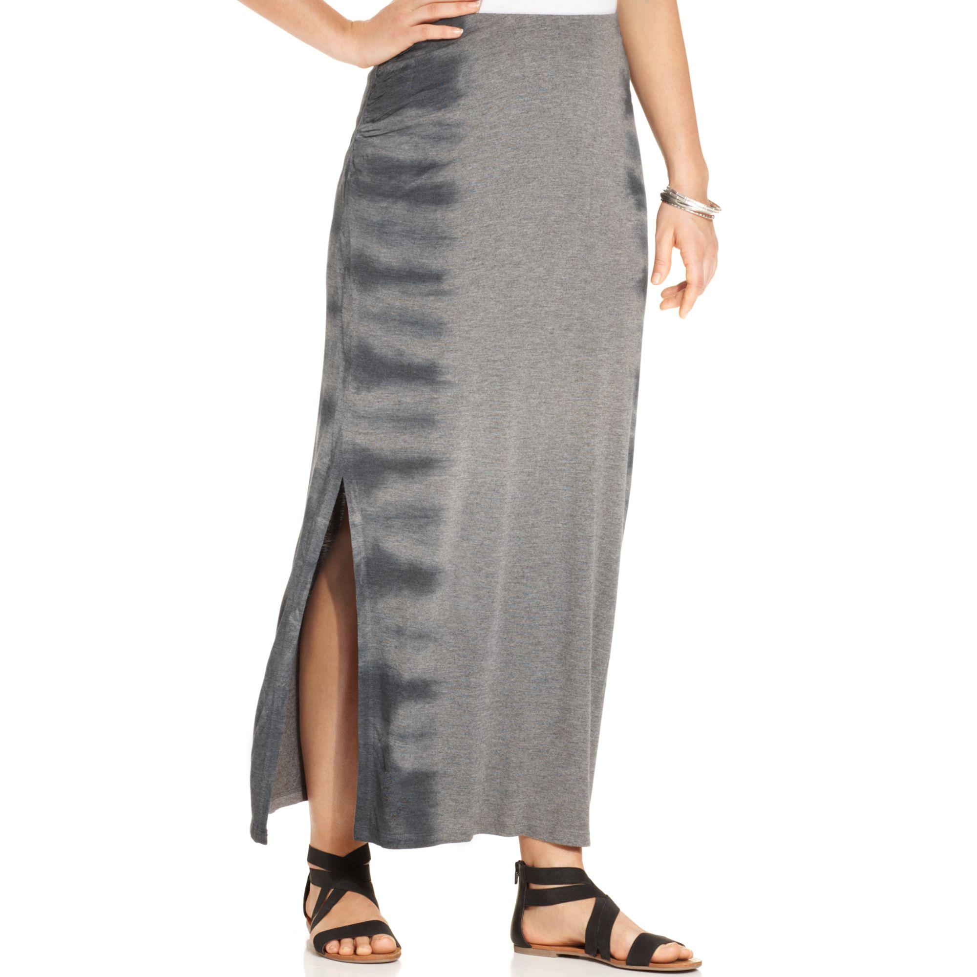 Plus Size Tie Dye Maxi Dresses