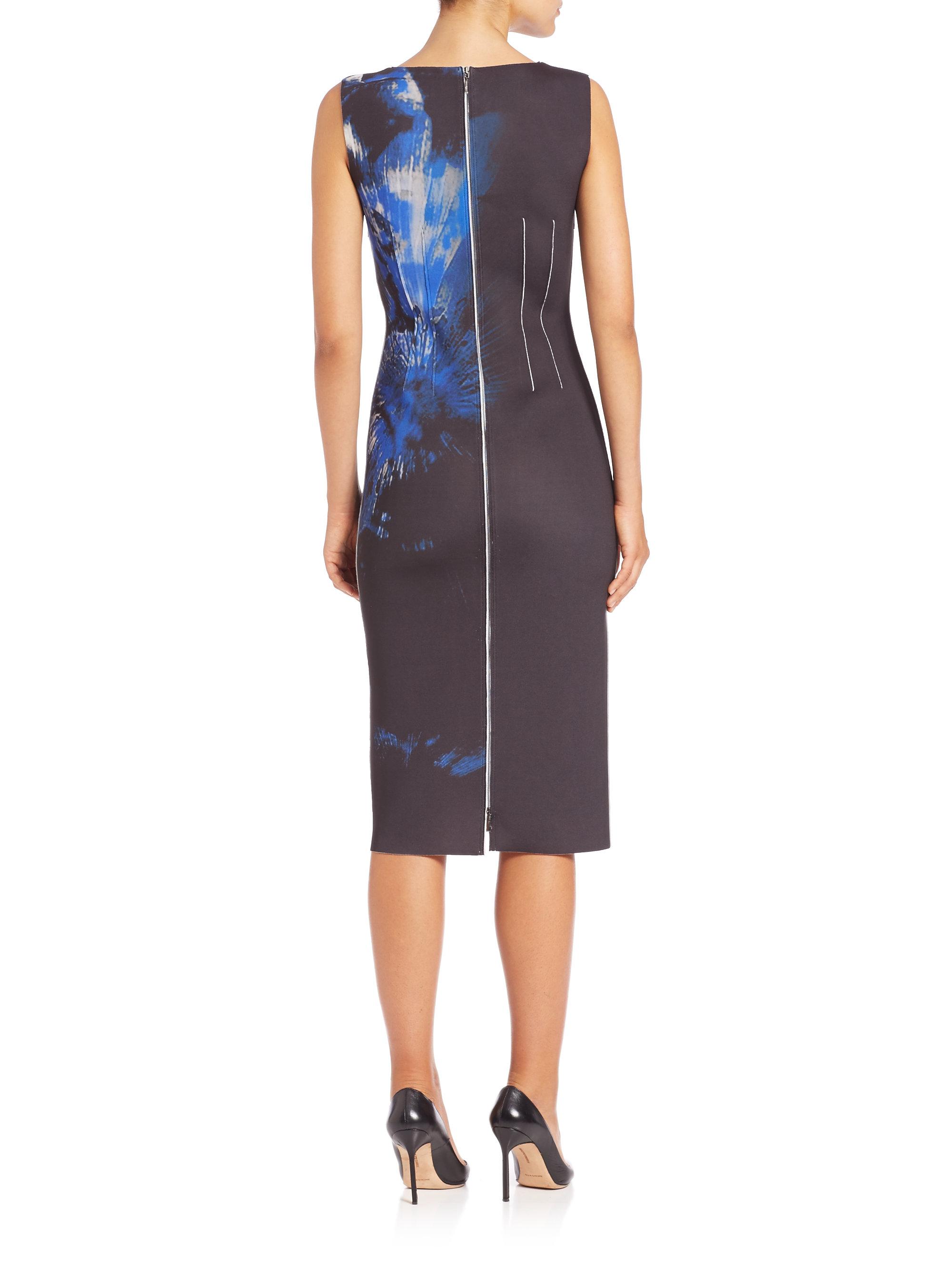 4051f84519e6 Lyst - Elie Tahari Gwenyth Floral Print Dress