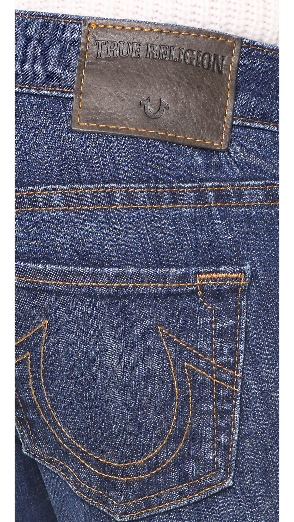 True Religion Karlie Bell Bottom Jeans in Blue