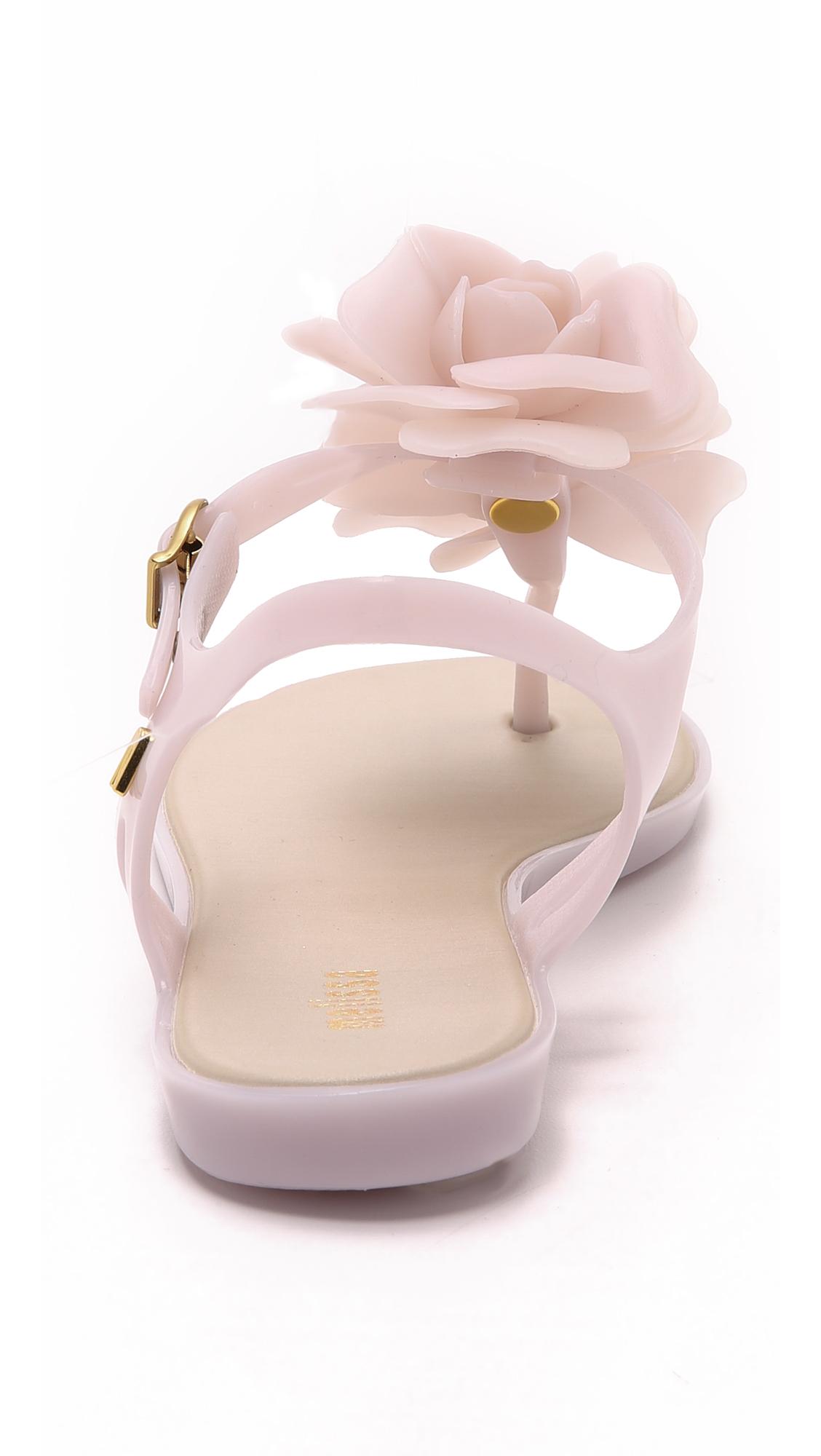 b226d81798e5ed Lyst - Melissa Solar Garden Sandals in Pink