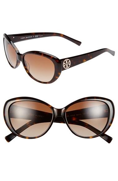 dcb8eeedbf Tory Burch Polarized Cat Eye Sunglasses