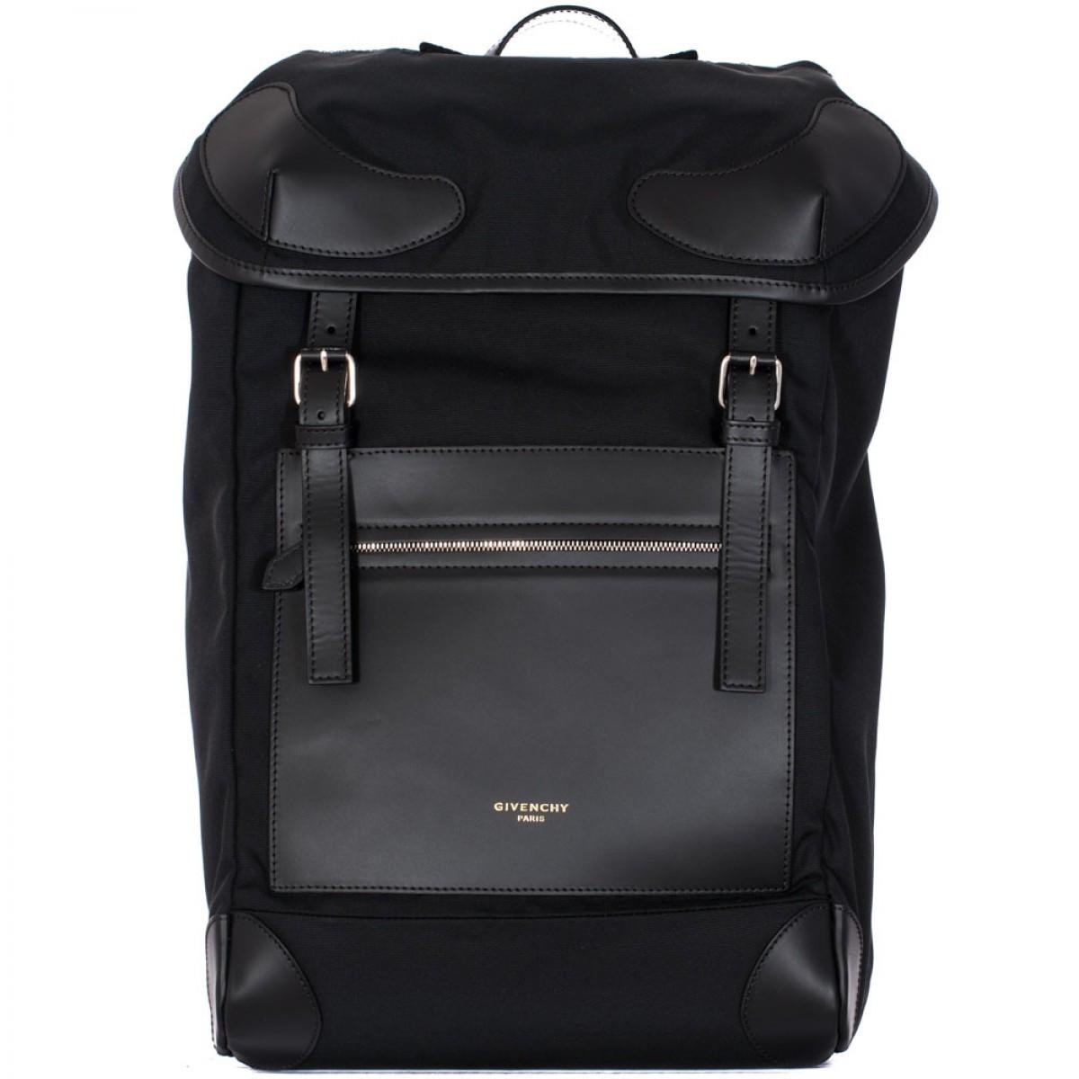 Backpack Nylon Black - Lesbian Pantyhose Sex-9450