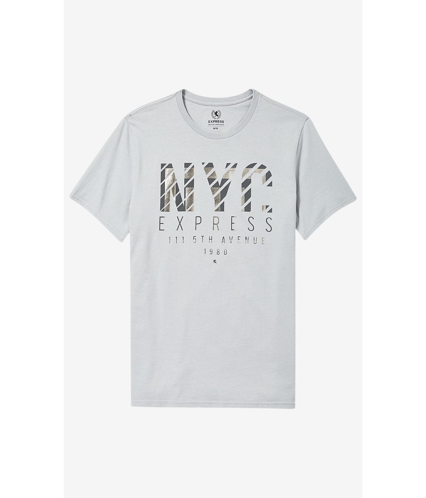 Black t shirt express - Black T Shirt Express Express Light Gray Nyc Shine Graphic T Shirt In For Men