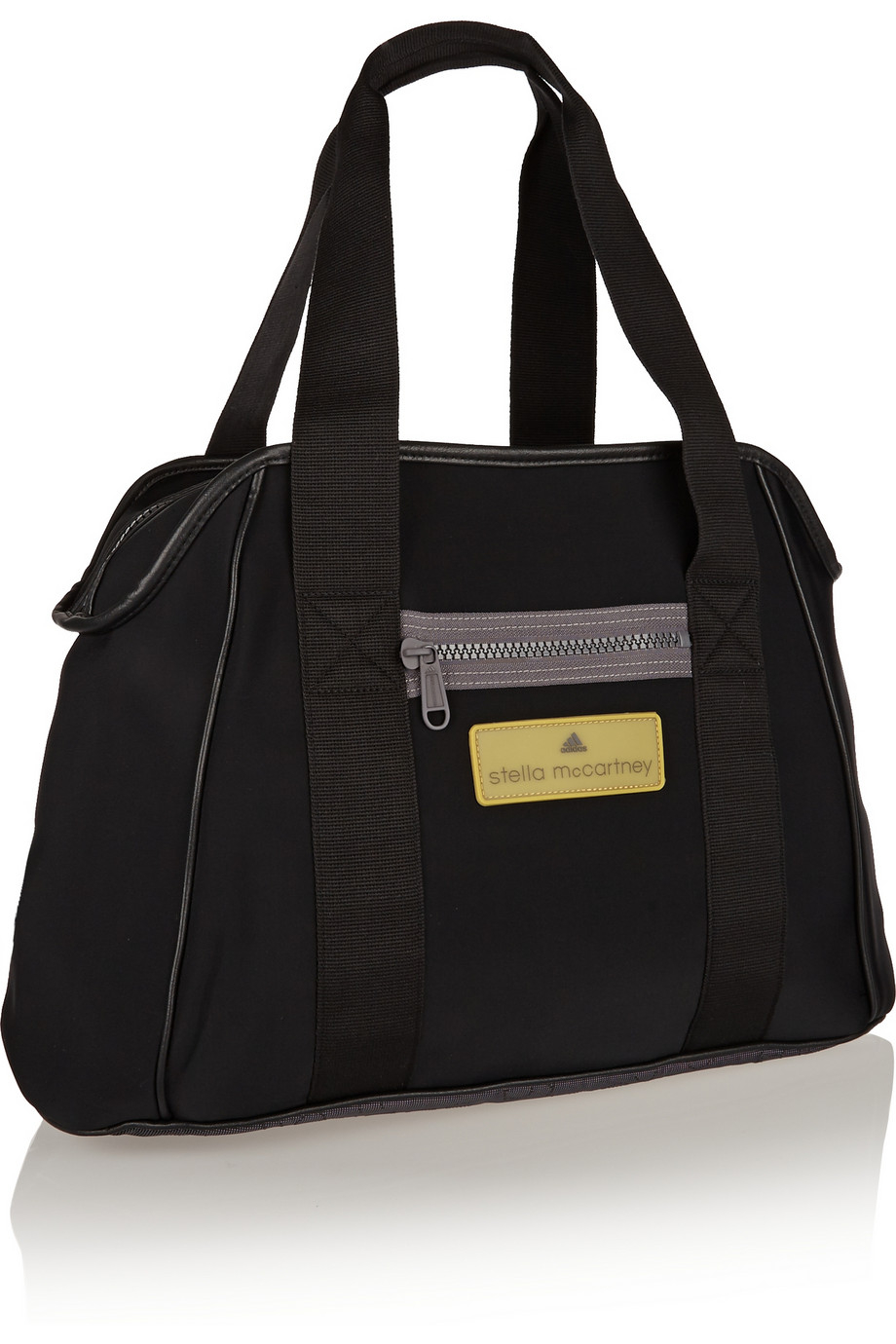 adidas by stella mccartney neoprene gym bag in black lyst. Black Bedroom Furniture Sets. Home Design Ideas