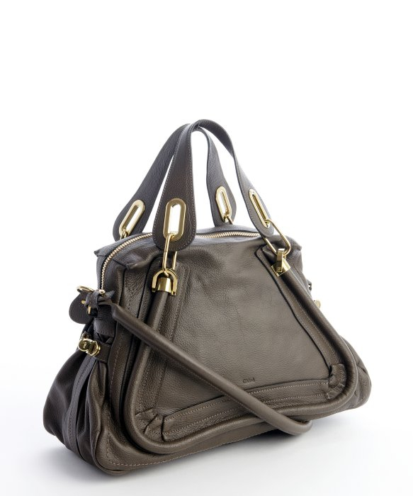 Chlo�� Rock Leather \u0026#39;paraty\u0026#39; Convertible Satchel in Brown | Lyst