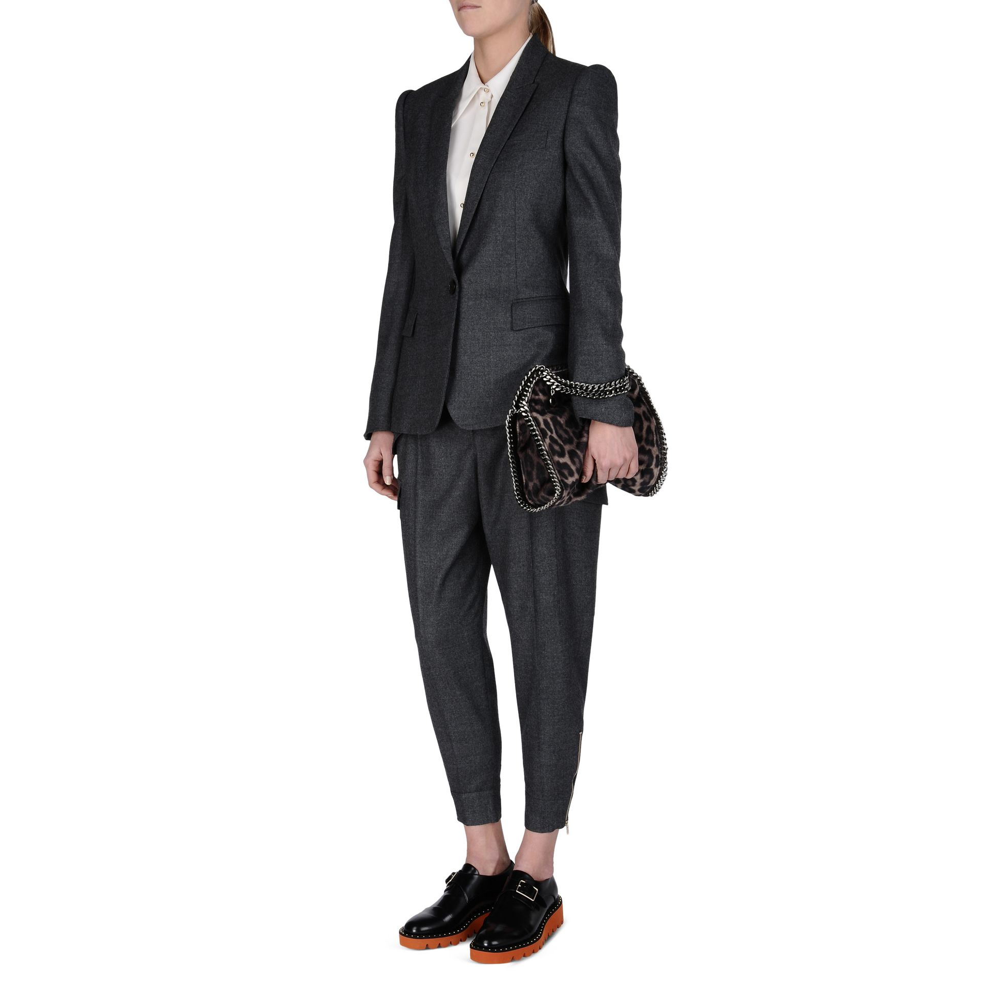 Stella McCartney Synthetic Falabella Leopard Alter Pony Mini Tote Bag