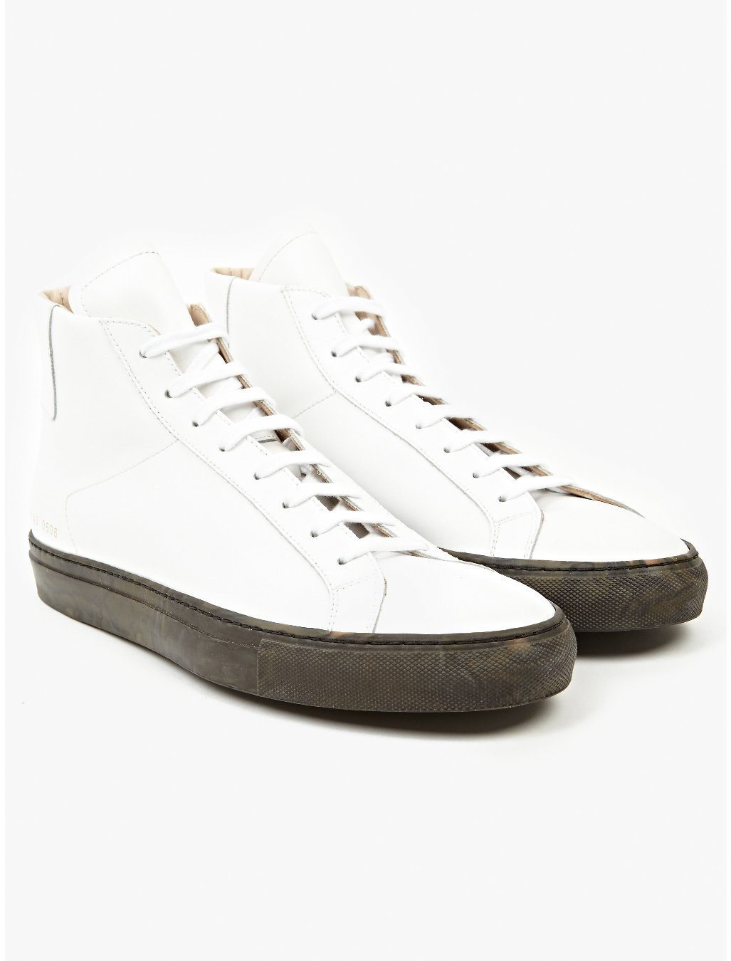 common projects mens original vintage high camo pack sneakers in white for men camo lyst. Black Bedroom Furniture Sets. Home Design Ideas