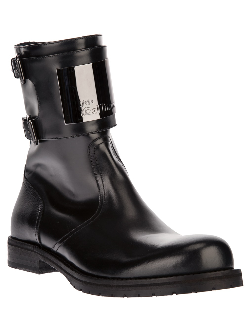 Double Buckled Ankle Boots