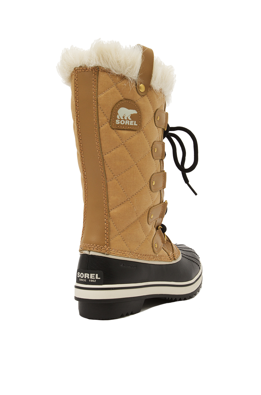 Sorel Tofino Cate Waterproof Boots In Natural Lyst