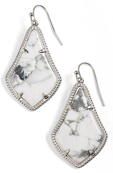 Kendra Scott Alex Teardrop Earrings In Metallic Lyst