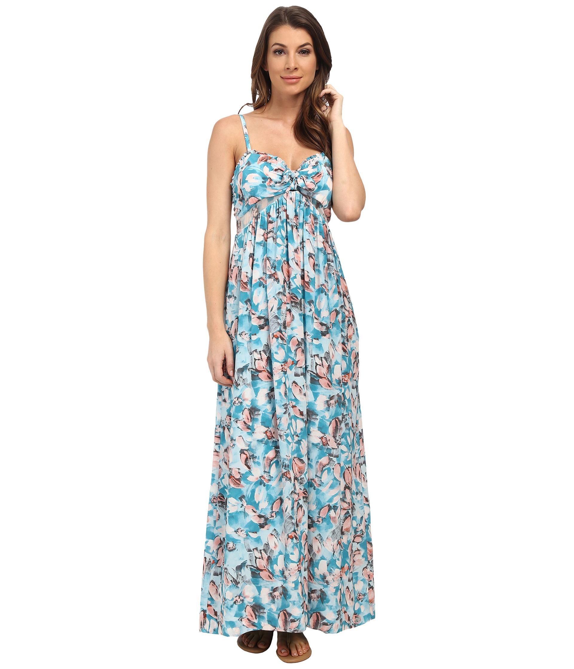 Lyst - Rebecca Taylor Sleeveless Aloha Cami Dress in Blue