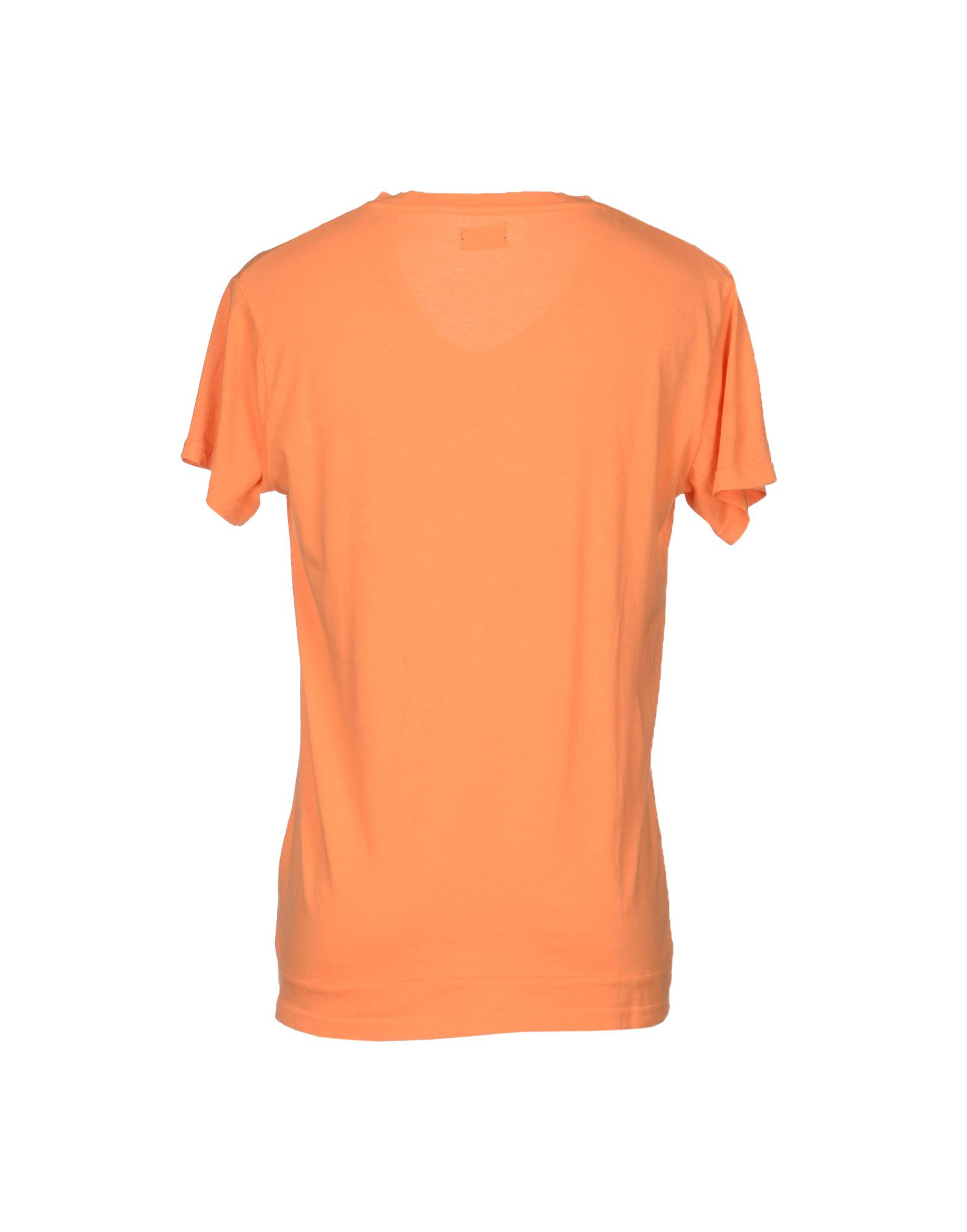 Cheap monday t shirt in orange for men lyst for Best inexpensive t shirts