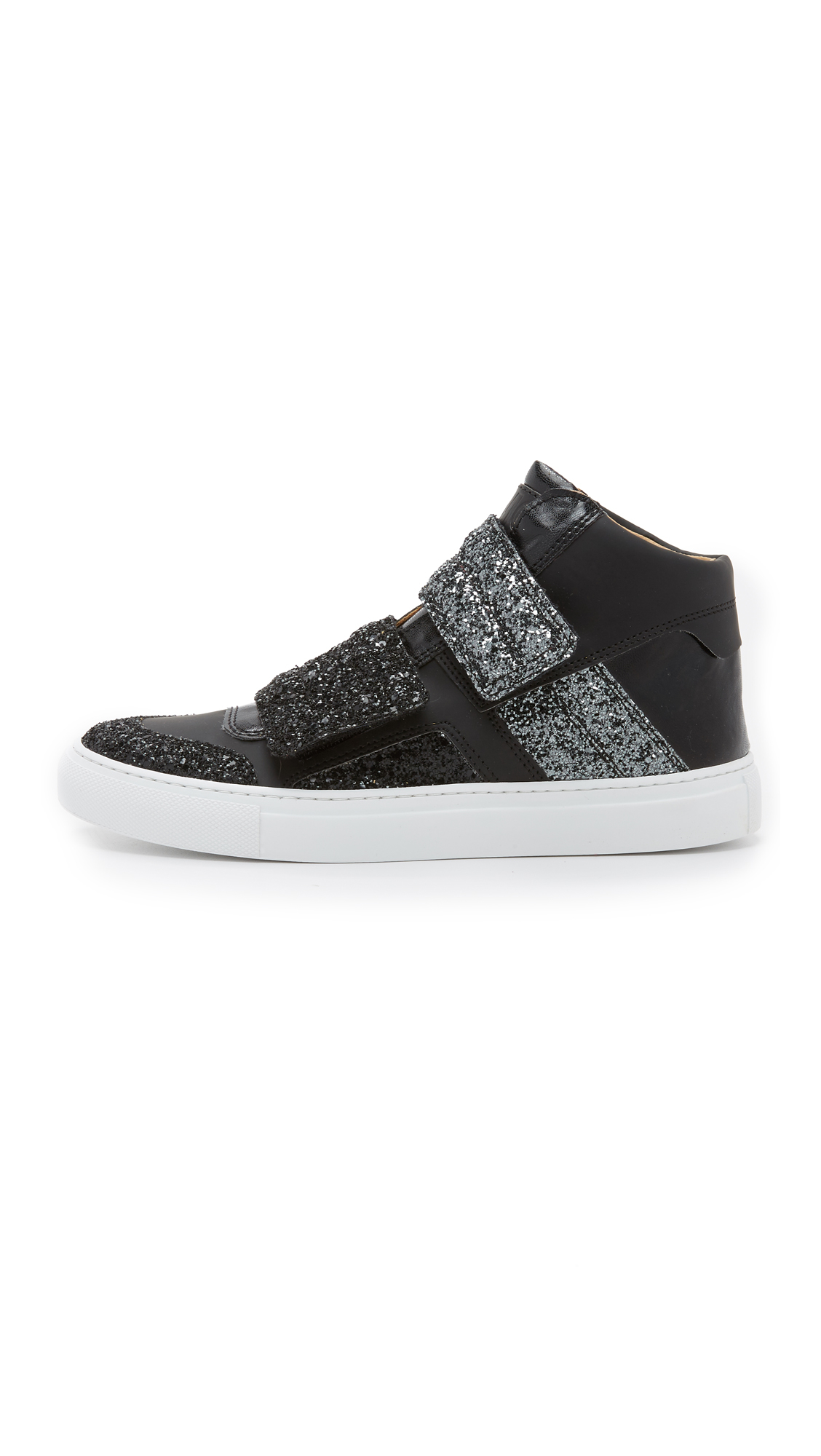 Lyst mm6 by maison martin margiela high top sneakers in for Mm6 maison margiela