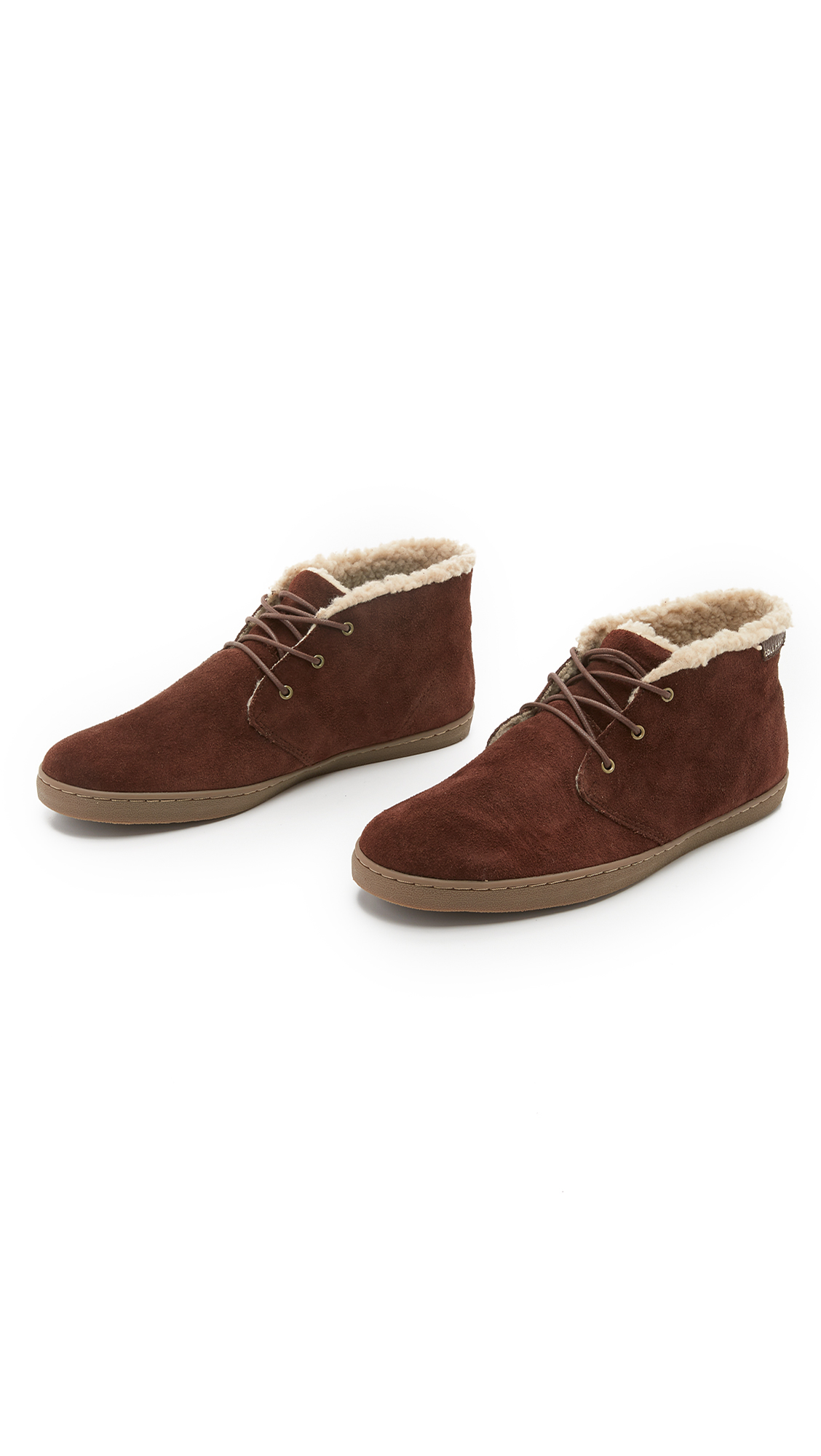 cole haan pinch suede weekender chukka boots in brown for