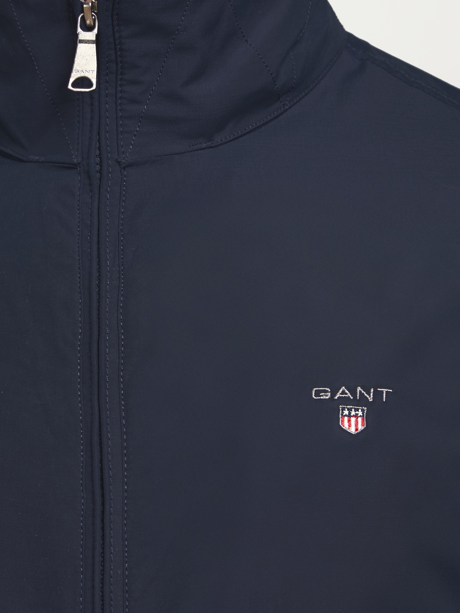 GANT Fleece Mid Length Jacket in Navy (Blue) for Men
