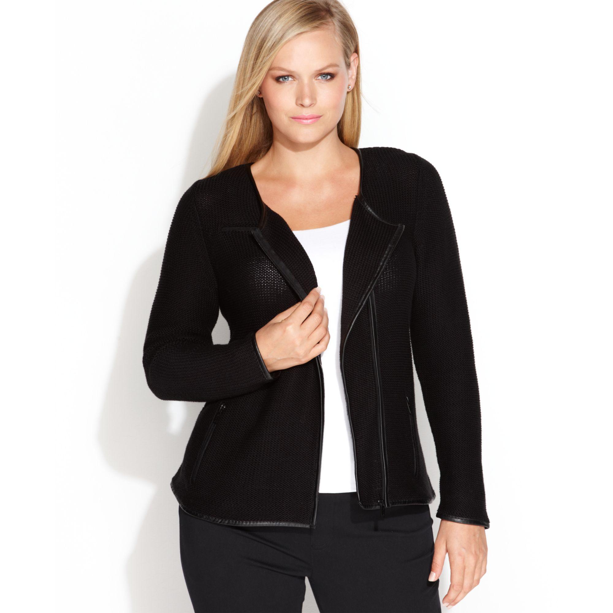 Plus Size Black Sweater Jackets - Best Jacket 2017