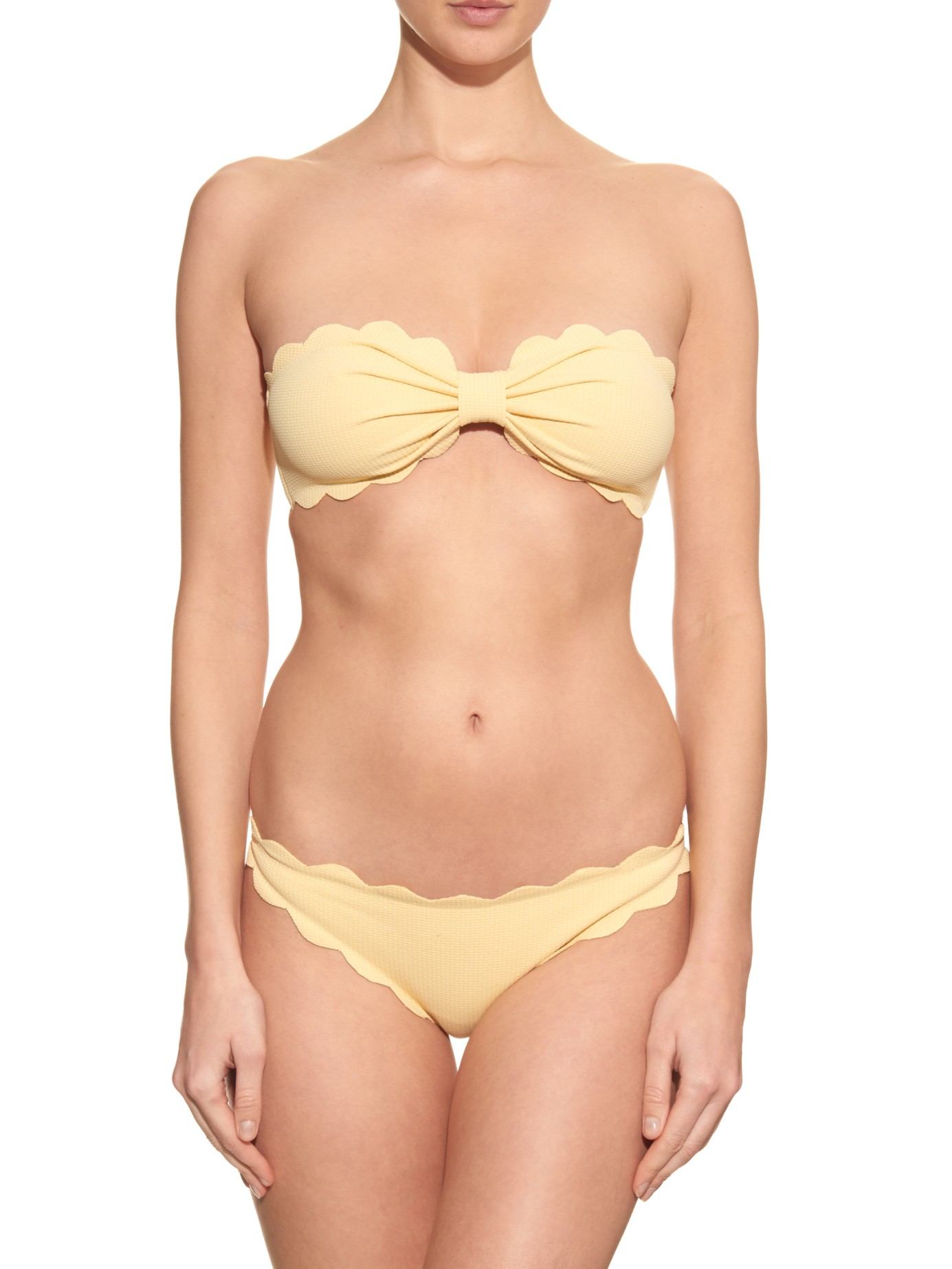 Antibes Dotty Triangle Scallop Edge Bikini Marysia Swim Discount Affordable Buy Cheap Top Quality Outlet Order Discounts Cheap Online Cheap Sale Marketable DroAWIR