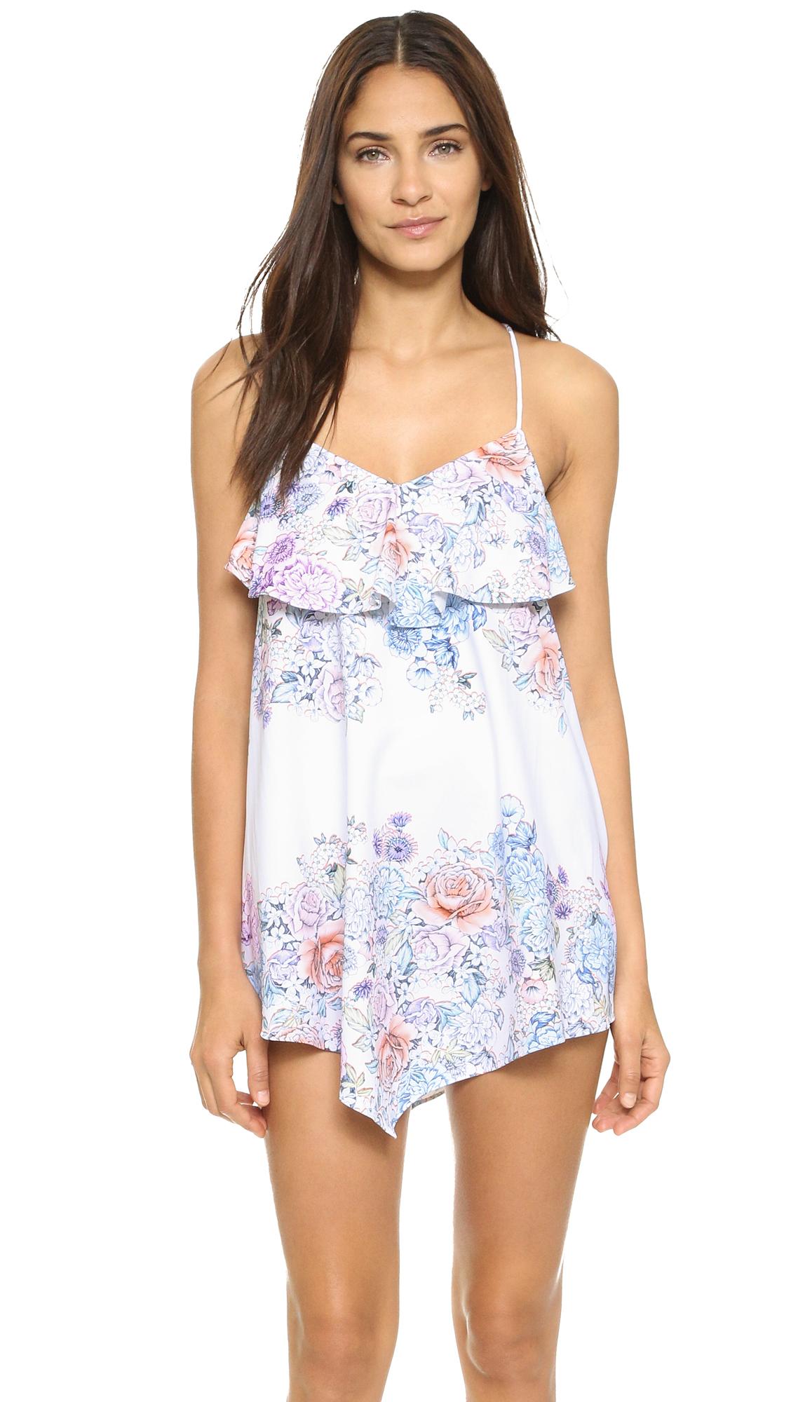 Shoshanna Summer Garden Dress in White  Lyst
