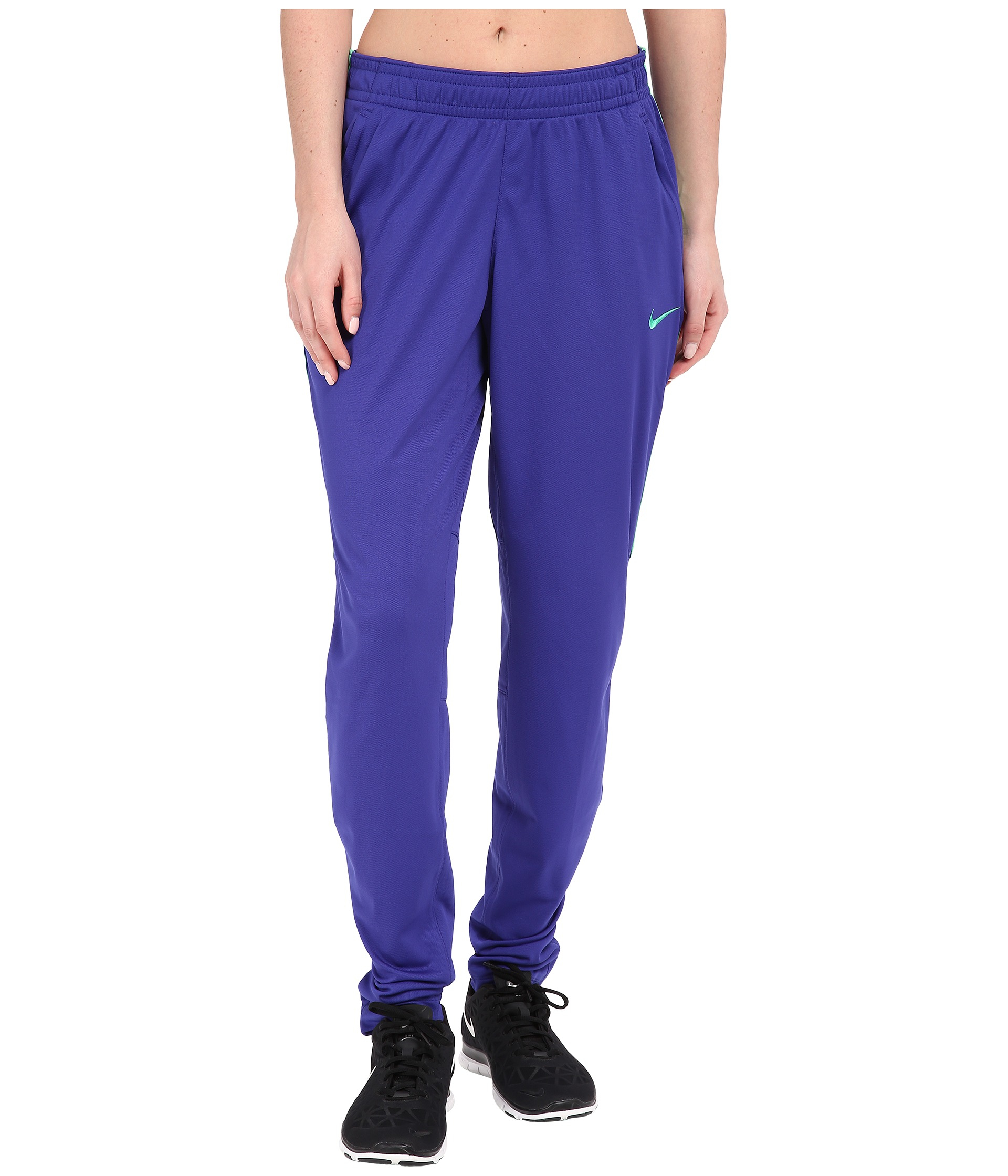 Nike Academy Knit Soccer Pant in Blue | Lyst