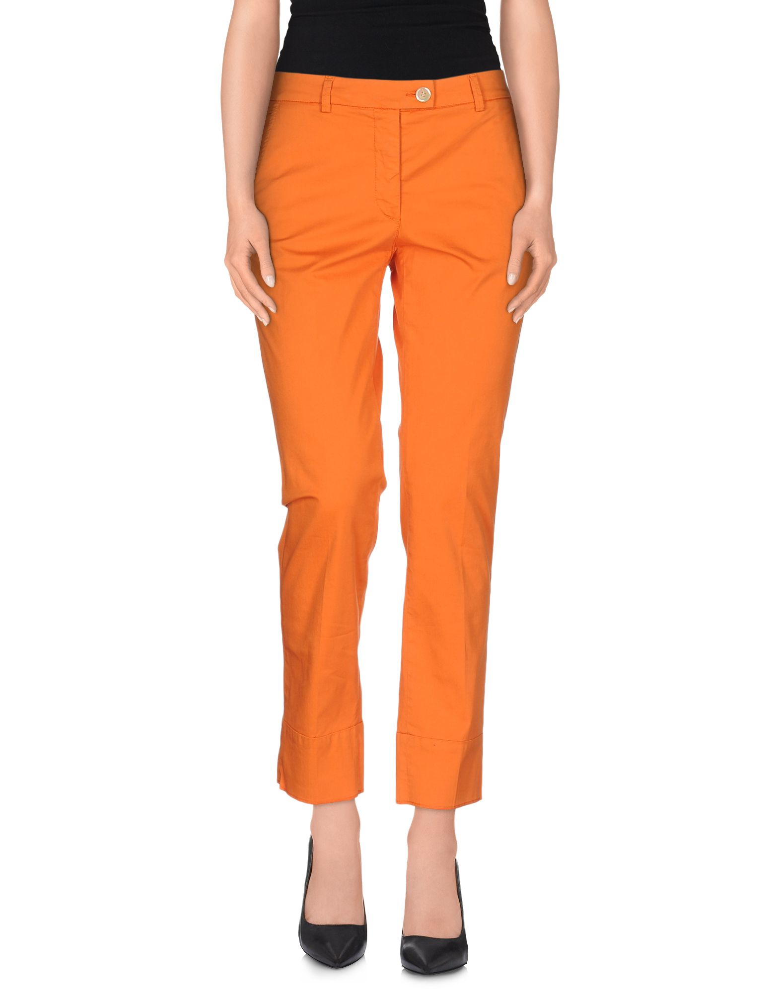 Awesome Orange Skinny Trousers  Casual Trousers  Trousers  Leggings  Women