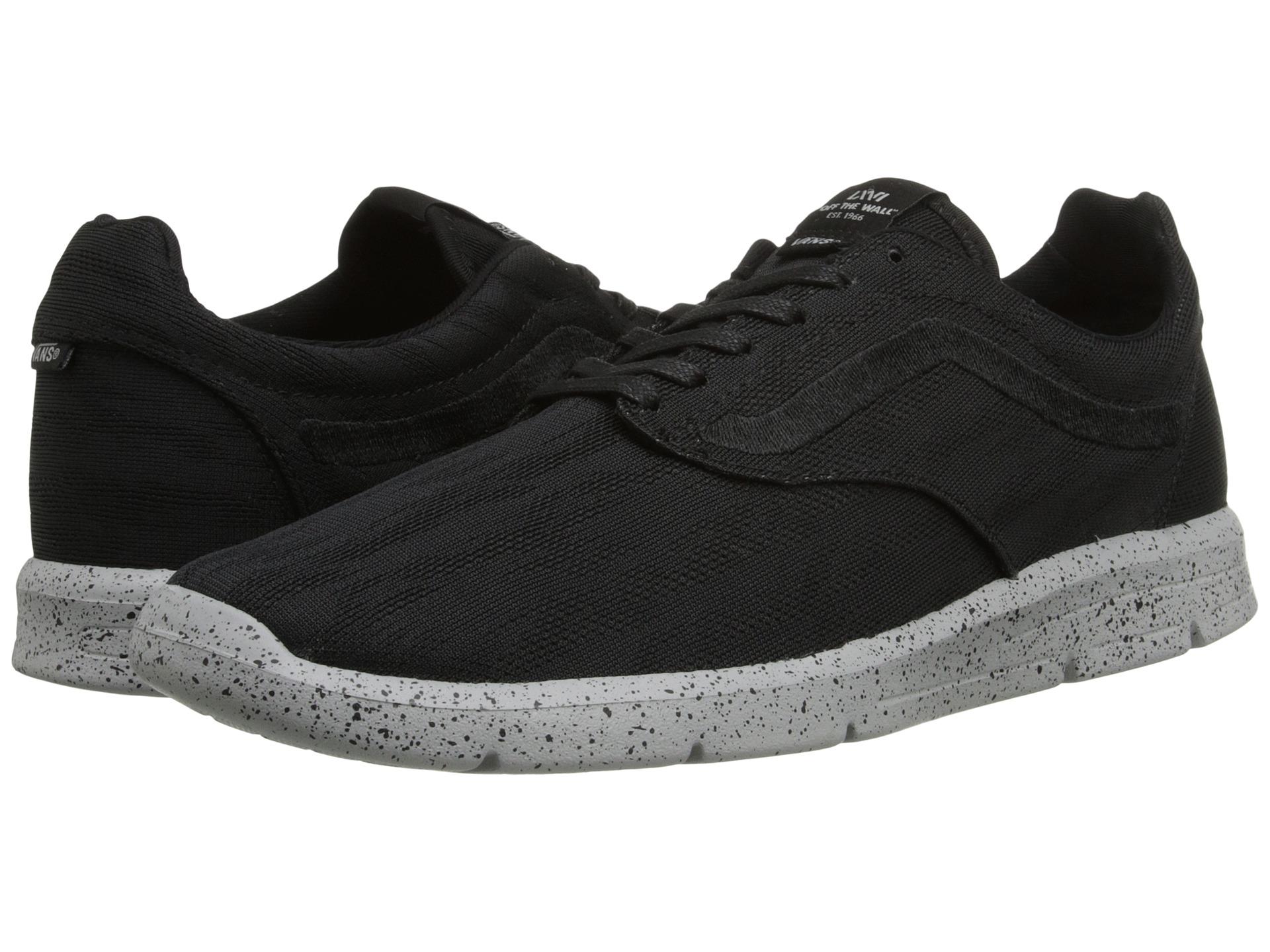 vans iso 1.5 shoes - (tiger mesh) black/high rise