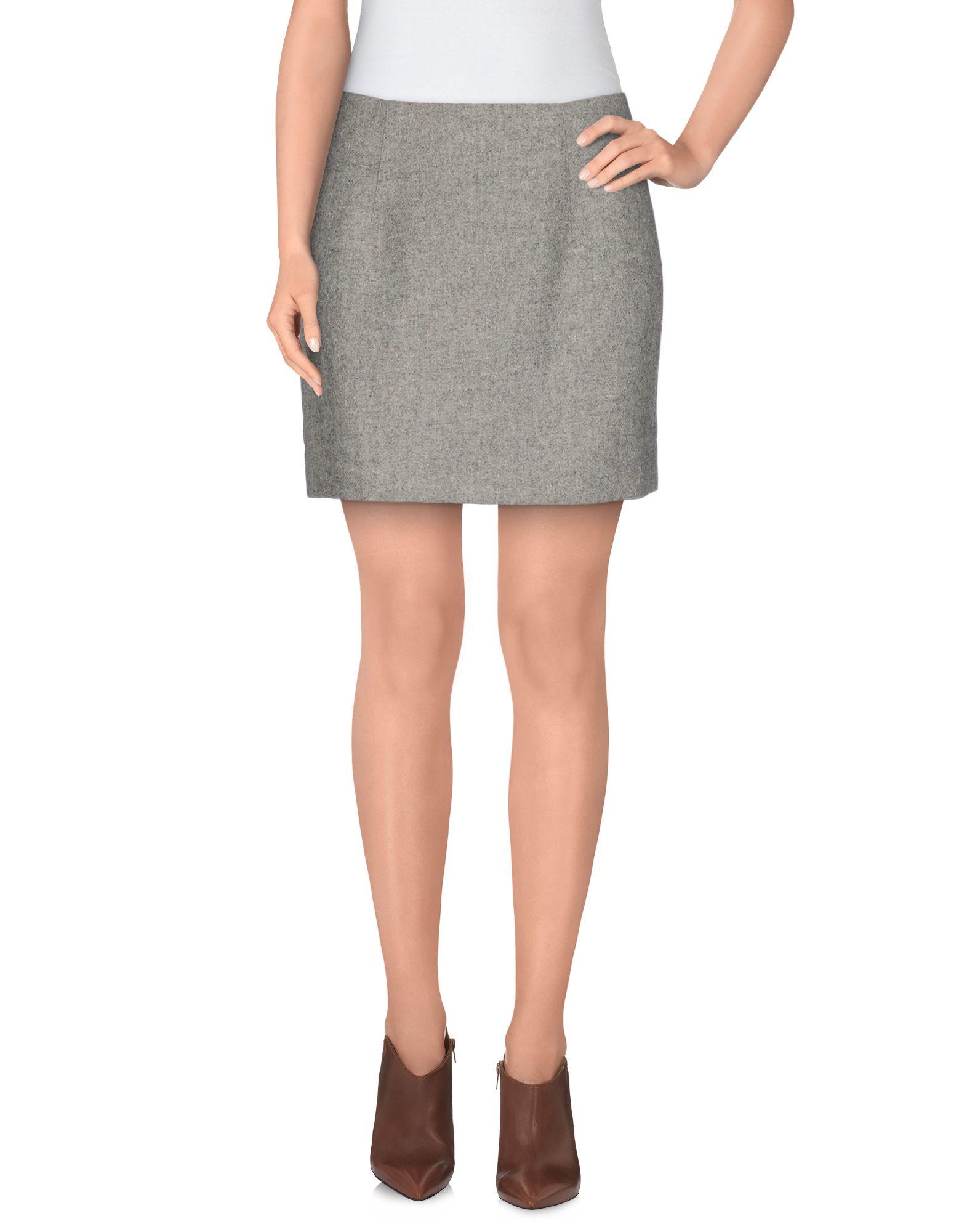 Grey Mini Skirt 8