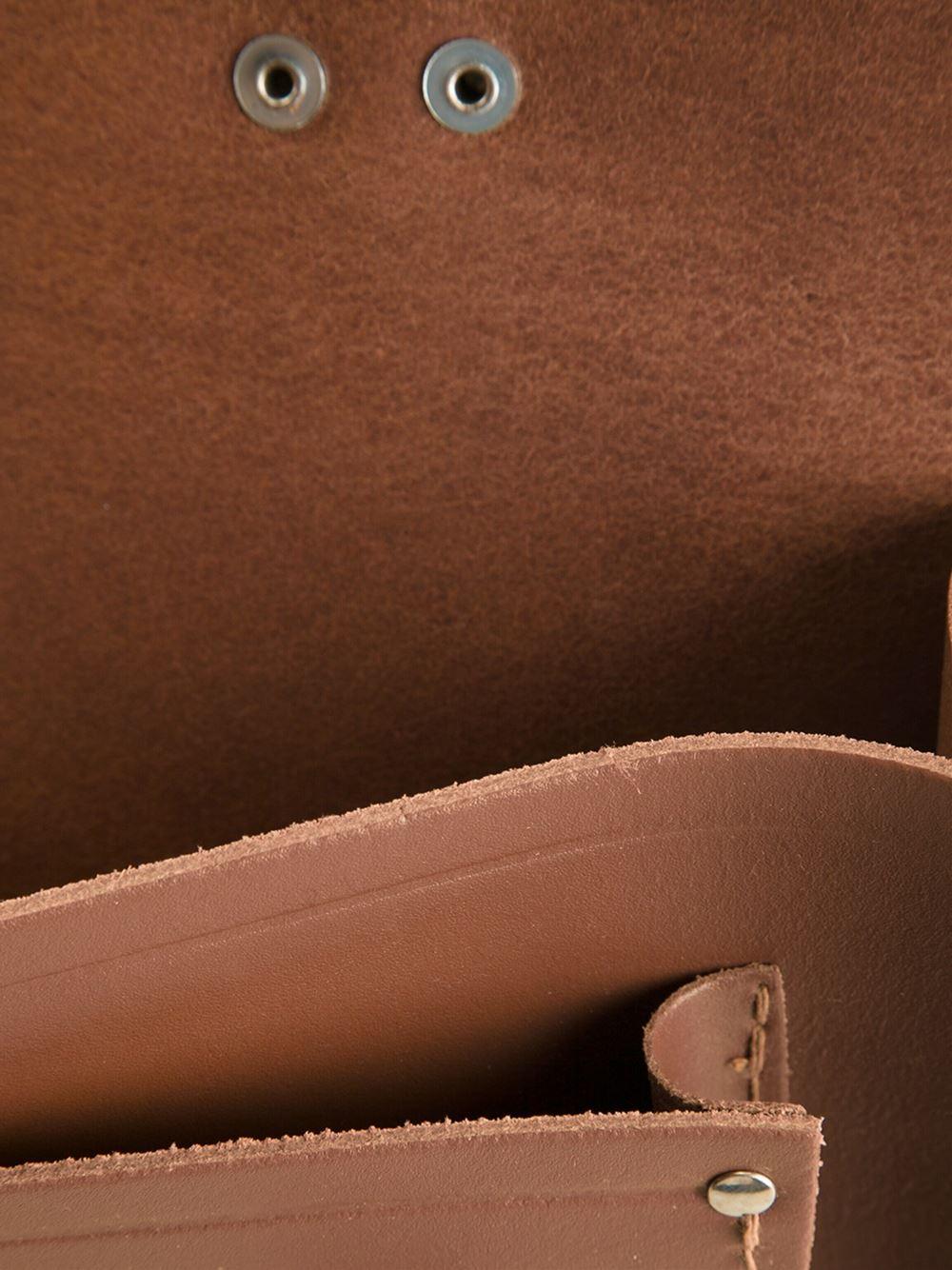 Cambridge Satchel Company 'Classic' Satchel in Brown