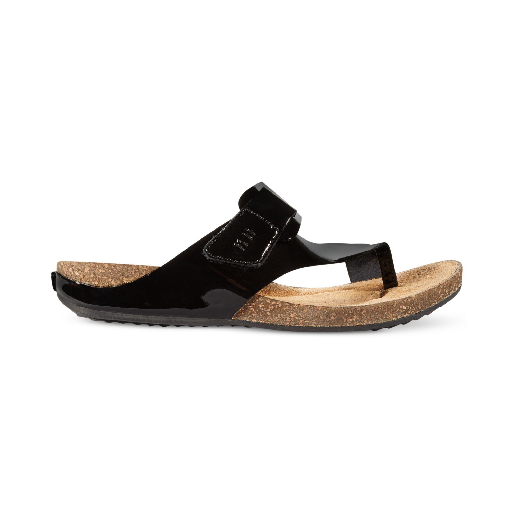 c219b886ef73 Lyst - Clarks Womens Artisan Perri Coast Footbed Sandals in Black