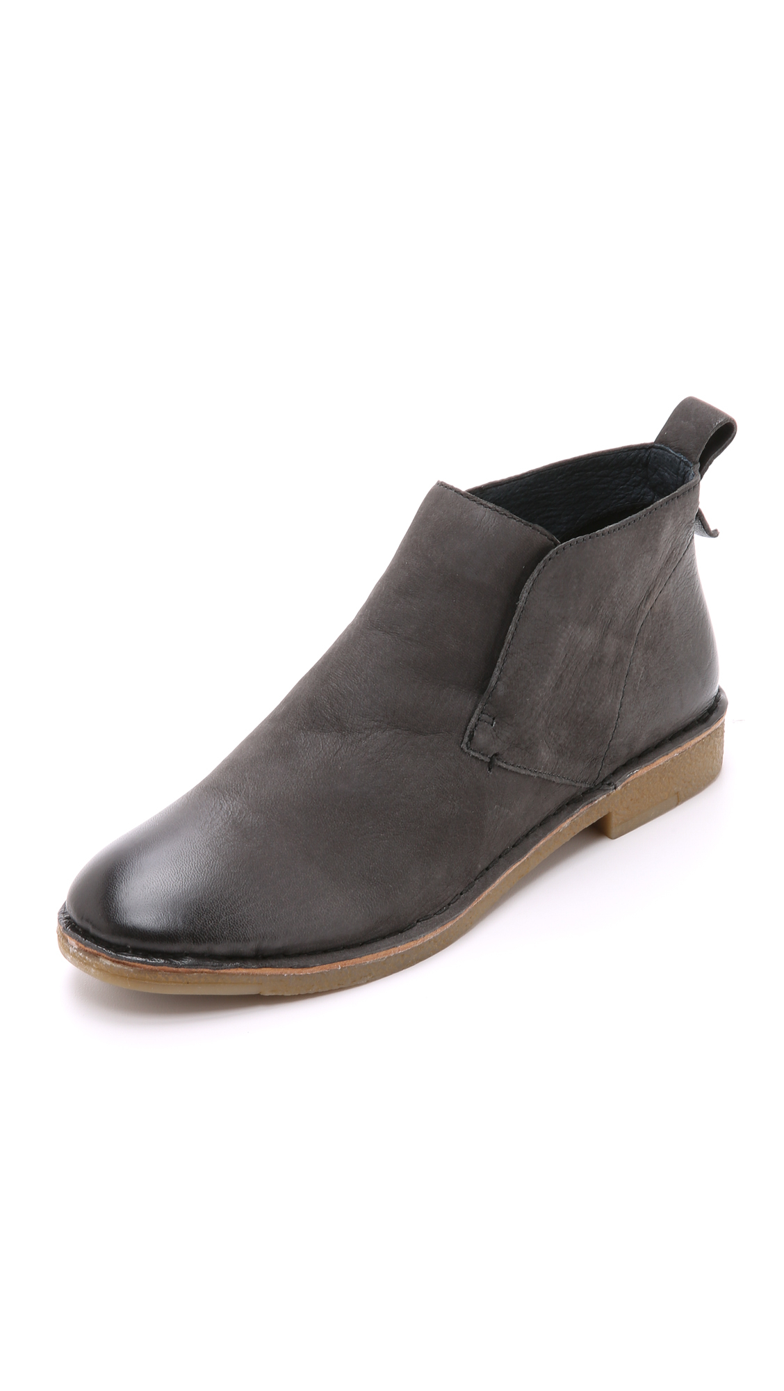 Dolce Vita Findley Booties Anthracite In Gray Lyst